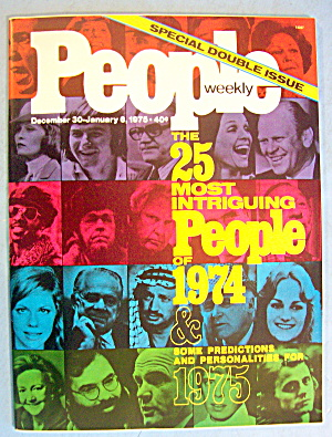 People Magazine Dec 30-jan 6, 1975 25 Intriguing People