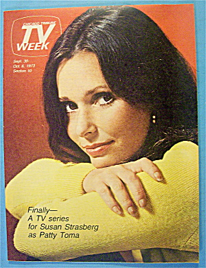 Tv Week September 30-october 6, 1973 Susan Strasberg
