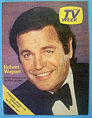 Tv Week August 30-september 5, 1981 Robert Wagner