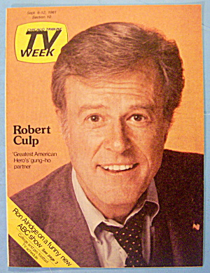 Tv Week September 6-12, 1981 Robert Culp