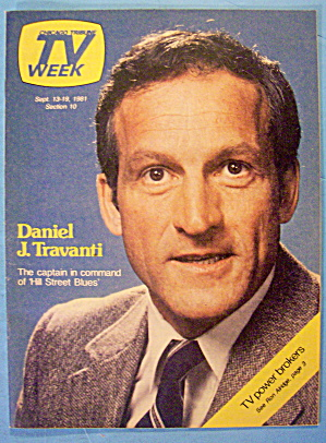Tv Week September 13-19, 1981 Daniel J. Travanti
