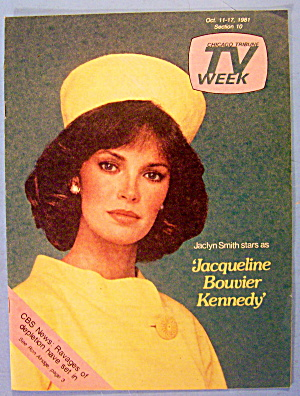 TV Week October 11-17, 1981 Jaclyn Smith (Image1)
