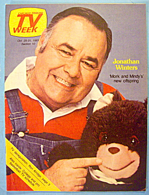 TV Week October 25-31, 1981 Jonathan Winters (Image1)