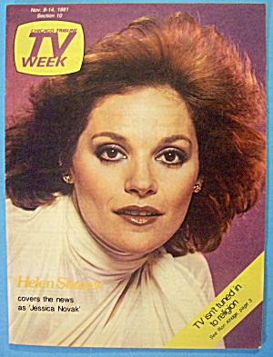 TV Week November 8-14, 1981 Helen Shaver (Image1)