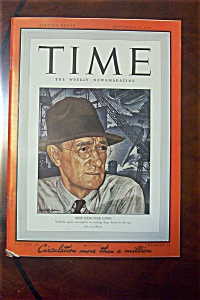 Time Magazine -september 28, 1942- Ship Designer Gibbs