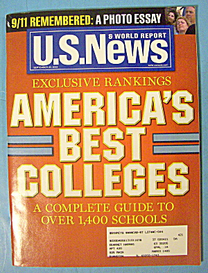 U. S. News & World Report Magazine September 23, 2002 (Image1)