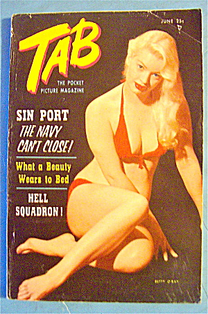 Tab Magazine-june 1957-sin Port & Hell Squadron