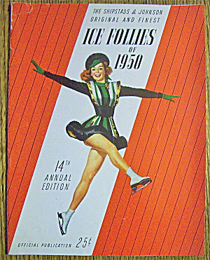 Ice Follies Of 1950 Program (14th Ed) Shipstad/johnson