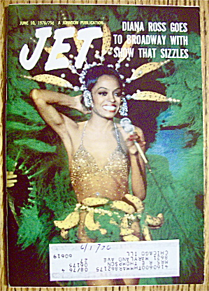 Jet Magazine June 10, 1976 Diana Ross Goes To Broadway (Image1)
