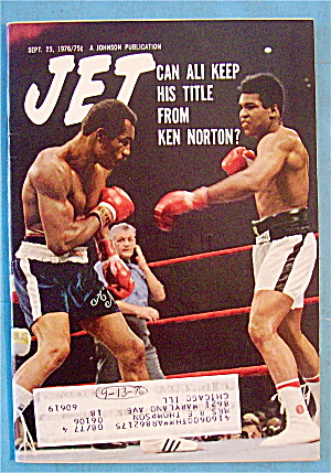 Jet Magazine September 23, 1976 Can Ali Keep His Title