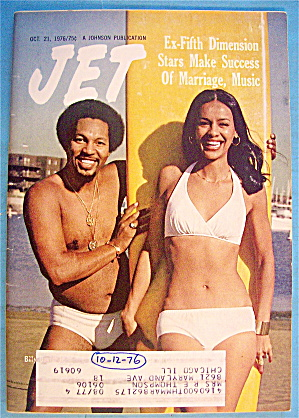 Jet Magazine October 21, 1976 Ex-fifth Dimension