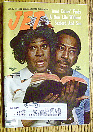 Jet Magazine October 6, 1977 Aunt Esther Finds New Life
