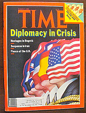 Time Magazine-march 17, 1980-diplomacy In Crisis