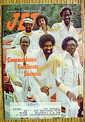 Jet Magazine May 26, 1977 Commodores & Success