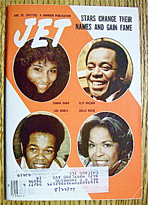 jet magazine august 25 1977 stars change names ebony jet at a date in time. Black Bedroom Furniture Sets. Home Design Ideas
