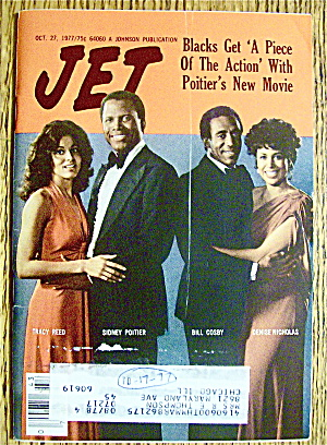 Jet Magazine October 27, 1977 S. Poitier & B. Cosby
