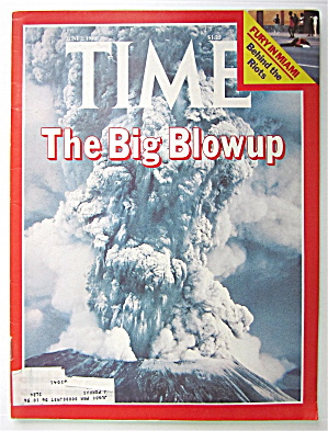 Time Magazine-june 2, 1980-the Big Blowup