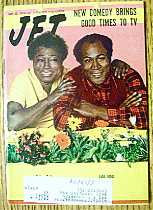 Jet Magazine May 23, 1974 Good Times To Tv