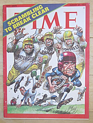 Time Magazine August 27, 1973 Scrambling To Break Clear
