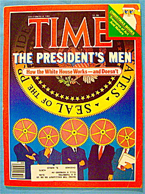 Time Magazine December 14, 1981 The President's Men