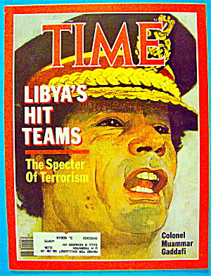 Time Magazine December 21, 1981 Libya's Hit Teams