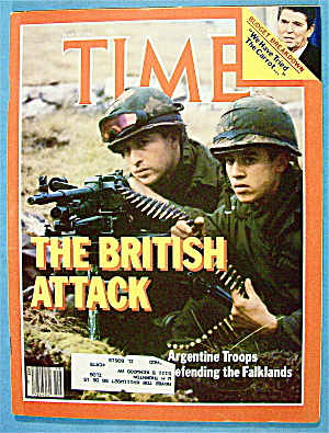 Time Magazine May 10, 1982 The British Attack