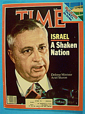 Time Magazine October 4, 1982 A Shaken Nation