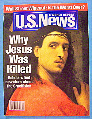 U.s. News & World Report Magazine April 24, 2000 Jesus