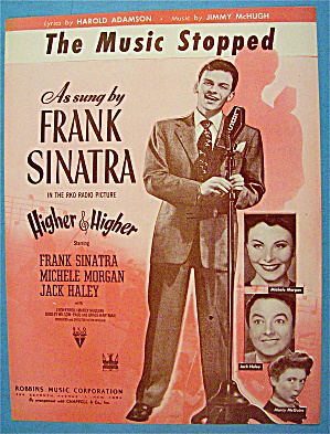 The Music Stopped 1943 Frank Sinatra