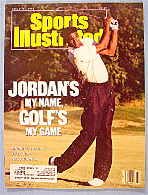Sports Illustrated Magazine August 14, 1989 Jordan/golf