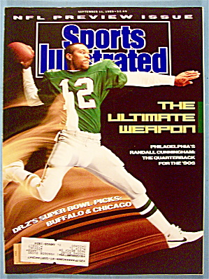 Sports Illustrated Magazine September 11, 1989 Randall (Image1)