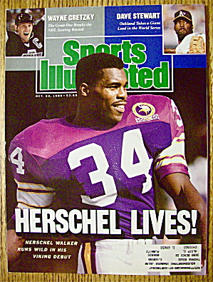 Sports Illustrated Magazine October 23, 1989 Herschel