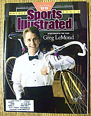 Sports Illustrated Magazine December 25, 1989 G. Lemond