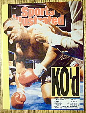 Sports Illustrated Magazine February 19, 1990 Ko'd