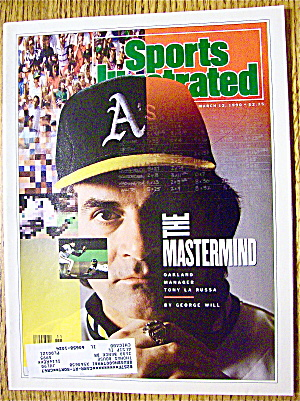Sport Illustrated Magazine March 12, 1990 Tony La Russa