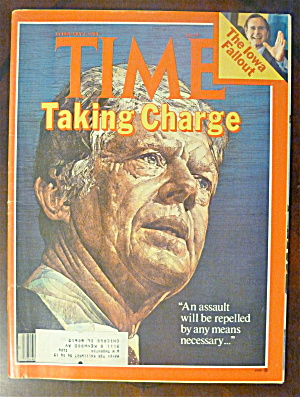 Time Magazine-february 4, 1980-jimmy Carter
