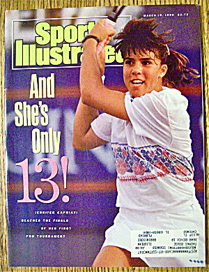 Sports Illustrated Magazine March 19, 1990 J. Capriati