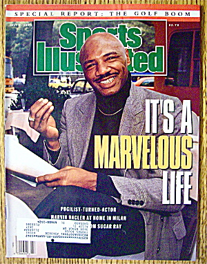 Sports Illustrated Magazine July 2, 1990 Marvin Hagler (Image1)