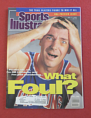Sports Illustrated Magazine November 5, 1990 B Laimbeer