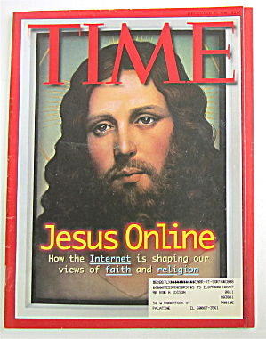 Time Magazine-december 16, 1996-jesus Online