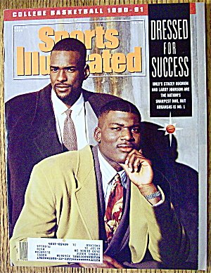 Sports Illustrated Magazine November 19, 1990 Augmon