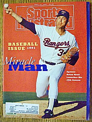 Sports Illustrated Magazine April 15, 1991 Nolan Ryan (Image1)