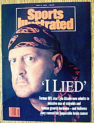 Sports Illustrated Magazine July 8, 1991 Lyle Alzado
