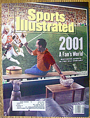 Sports Illustrated Magazine July 22, 1991 A Fan's World