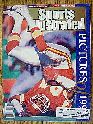 Sport Illustrated December 31, 1990-january 7, 1991