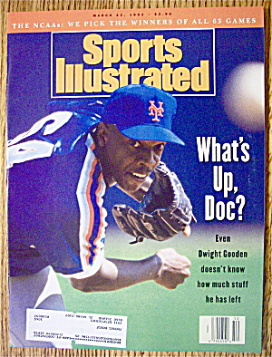Sport Illustrated Magazine March 22, 1993 Dwight Gooden