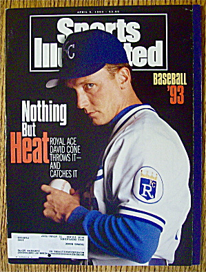 Sport Illustrated Magazine April 5, 1993 David Cone