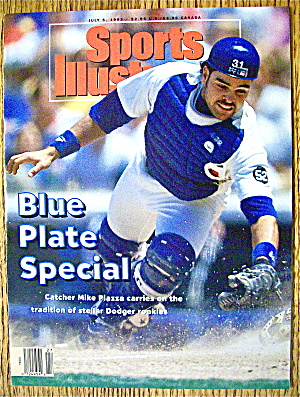 Sports Illustrated Magazine July 5, 1993 Mike Piazza (Image1)