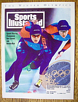 Sports Illustrated Magazine February 28, 1994 Olympics