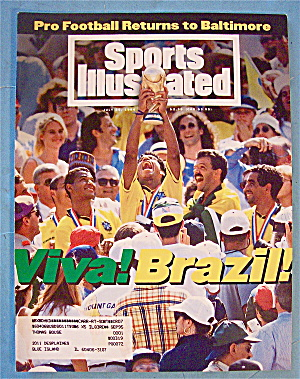 Sports Illustrated Magazine July 25, 1994 Viva Brazil